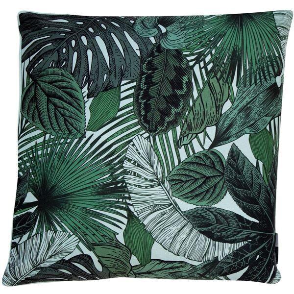 Leaves Cushion - Green
