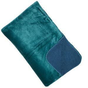 Luxury fleece Throw  - Teal