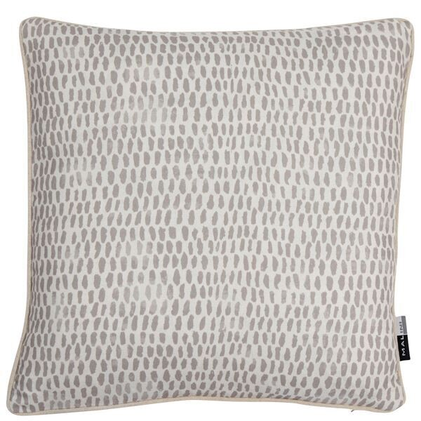 Taupe Raindrops Cushion
