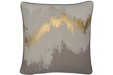 Taupe/gold Cushion