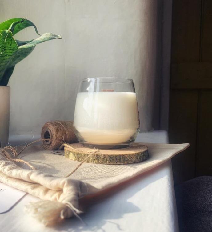 Luxury Soy Wax candle - Glass Tumbler