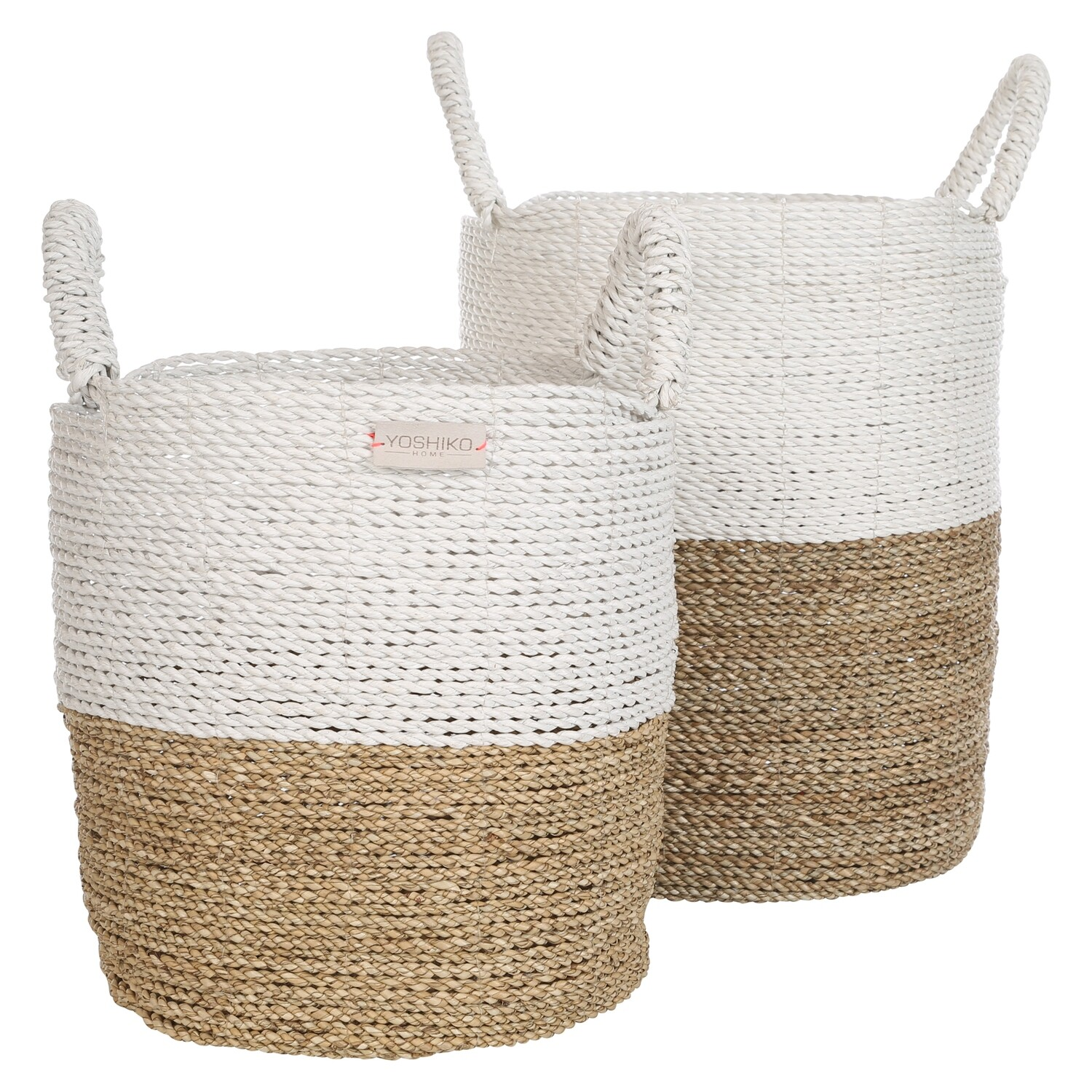 Seagrass Basket with handles - Large
