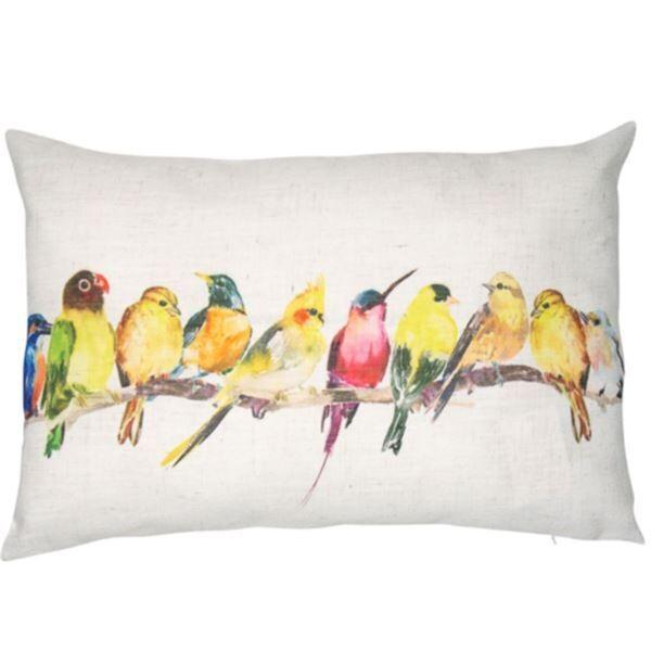 Bird Design Cushion