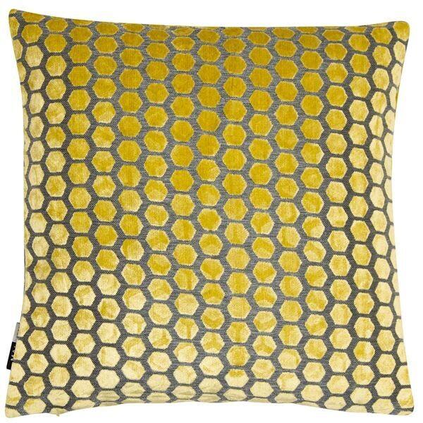Large Jorvik Mustard Cushion
