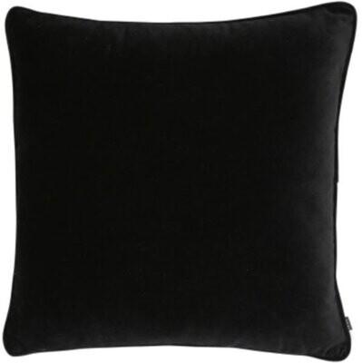 Velvet Black Cushion