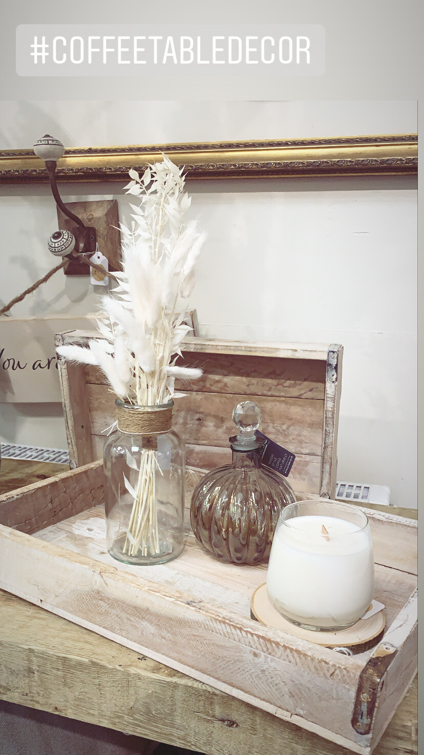 Bud Vase With jute Detail