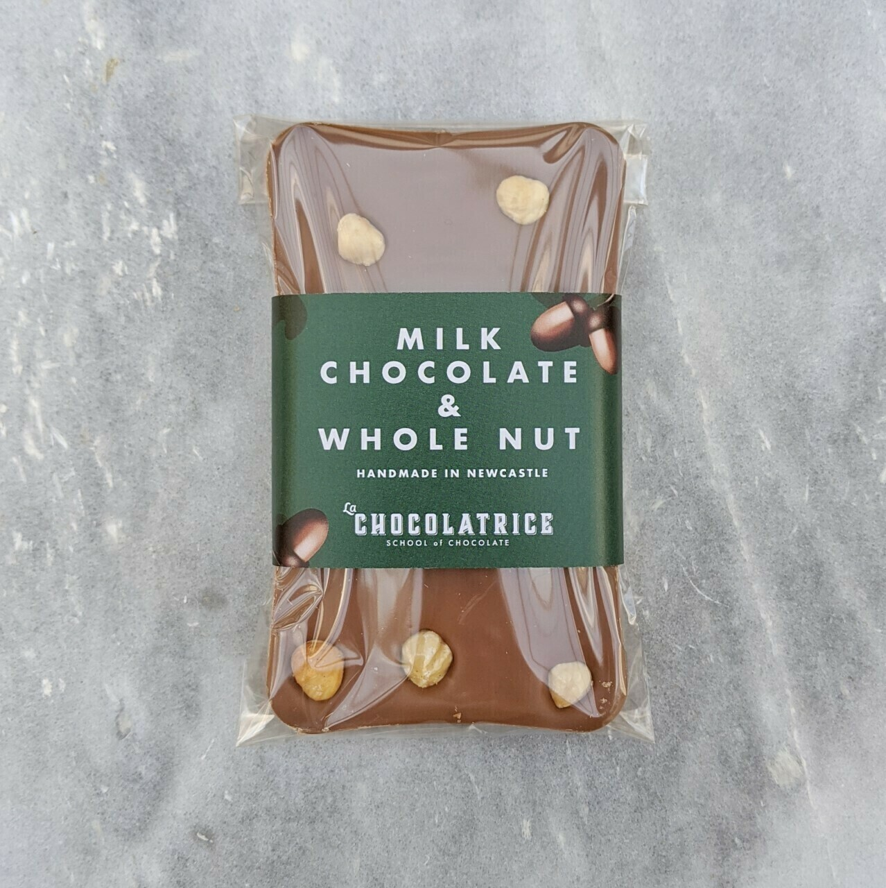 Milk Chocolate and Whole Nut