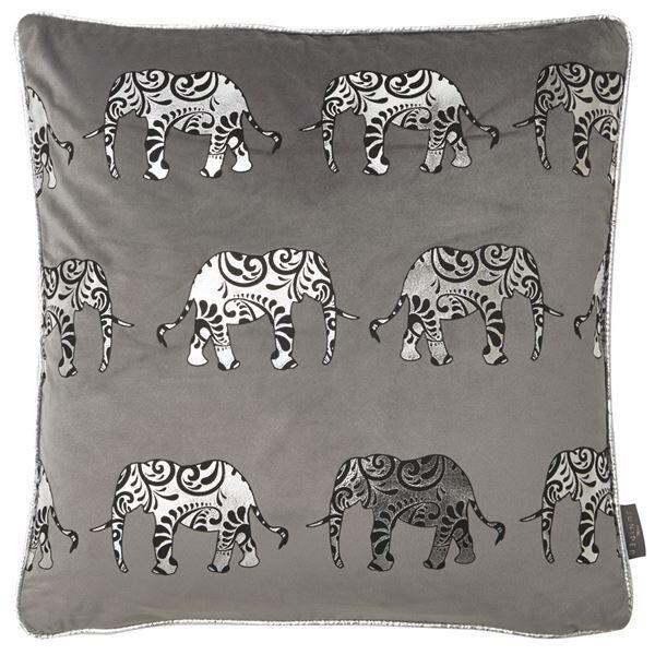 Luxurious Velvet Elephant Cushion