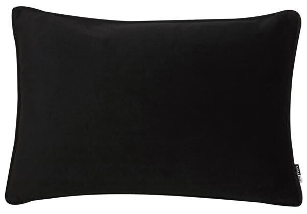 Velvet Black Rectangular Cushion