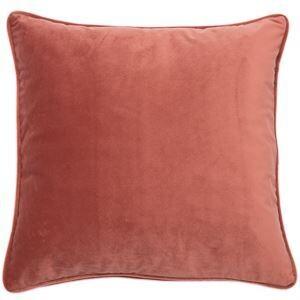Rosewood Blush Velvet Cushion