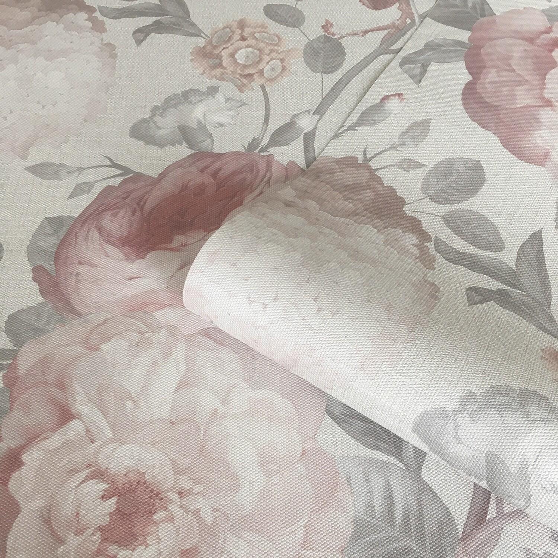 Giorgio Giant Peony Cream Wallpaper
