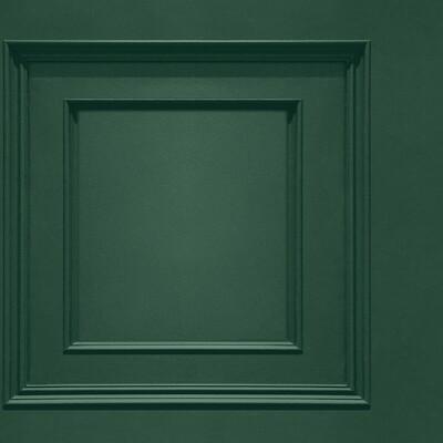 Oliana Panelling Green Wallpaper