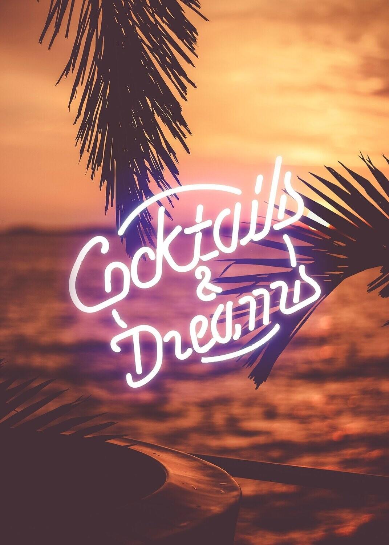 Cocktail & Dreams Wall Art Print