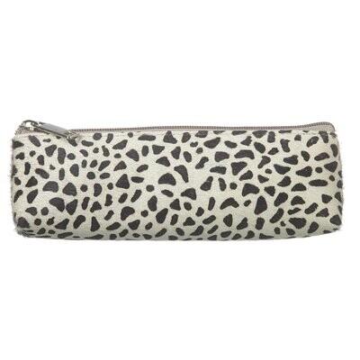 Cheetah Print Cow Pencil Case