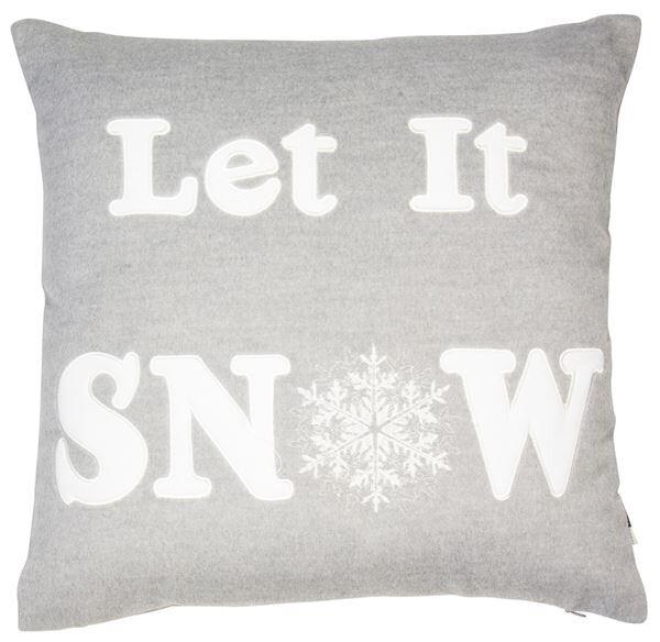 Christmas Frozen Cushion - Let It Snow
