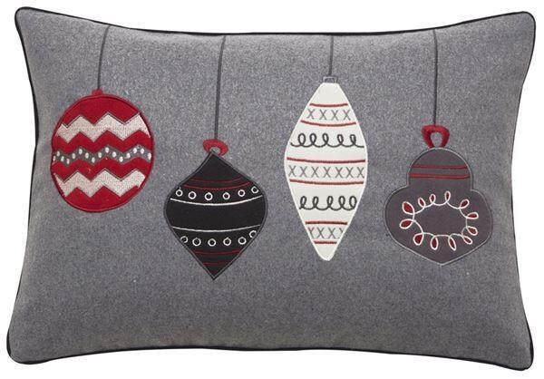 Christmas Bauble Cushion