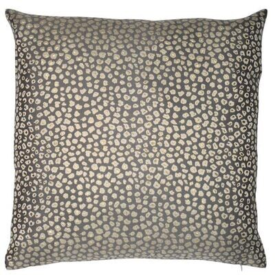 Soft Blue & Gold Cushion