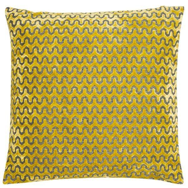 Large Oslo Mustard Cushion