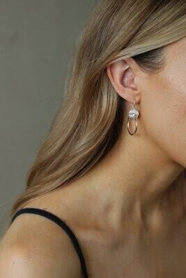 Tideline Earrings Silver