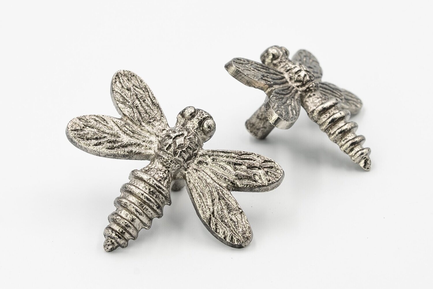 Dragonfly Drawer Handle Pewter Finish