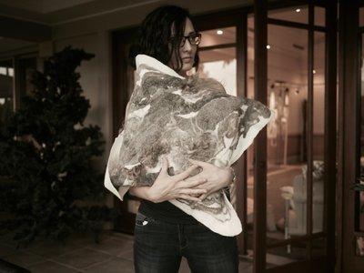 Wool Eco Sustainable Cushion