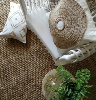 Natural Hand Woven Jute Rug