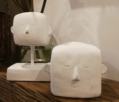 Roger & Eric Cement Heads