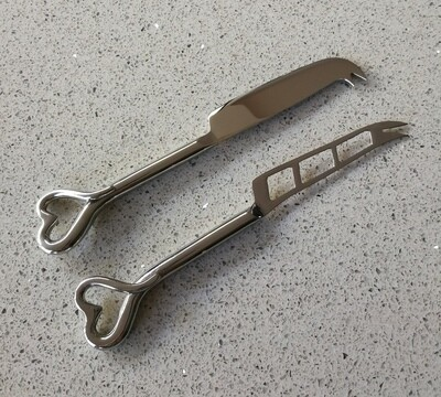 Forged Steel Cheese Knife Set