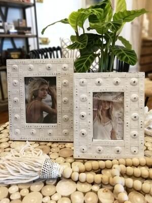 Aponi Timber / Metal Photo Frame