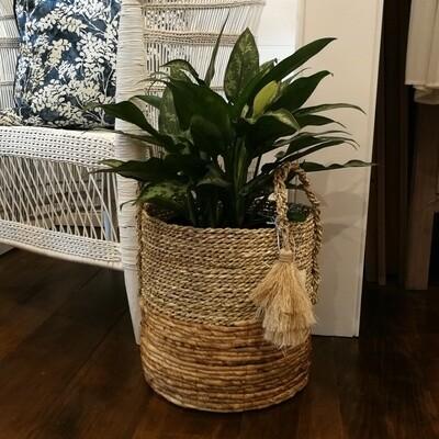 Naira Tassel Basket