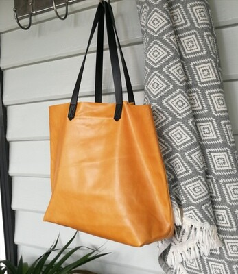 Butter Leather Tote Bag