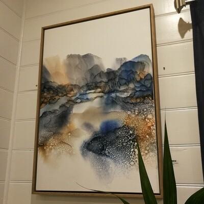 Indigo Passage - Original Art