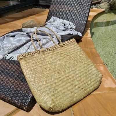 Sea grass Beach Basket