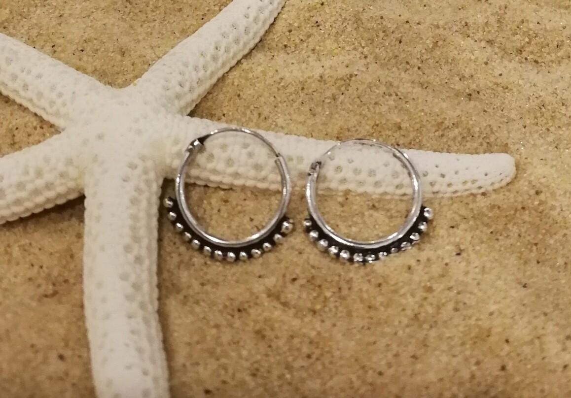 Dot Sleeper Earrings