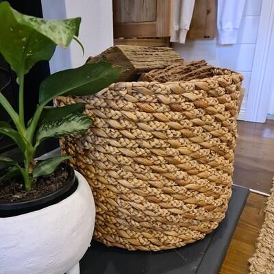 Cross Plait Weave Basket