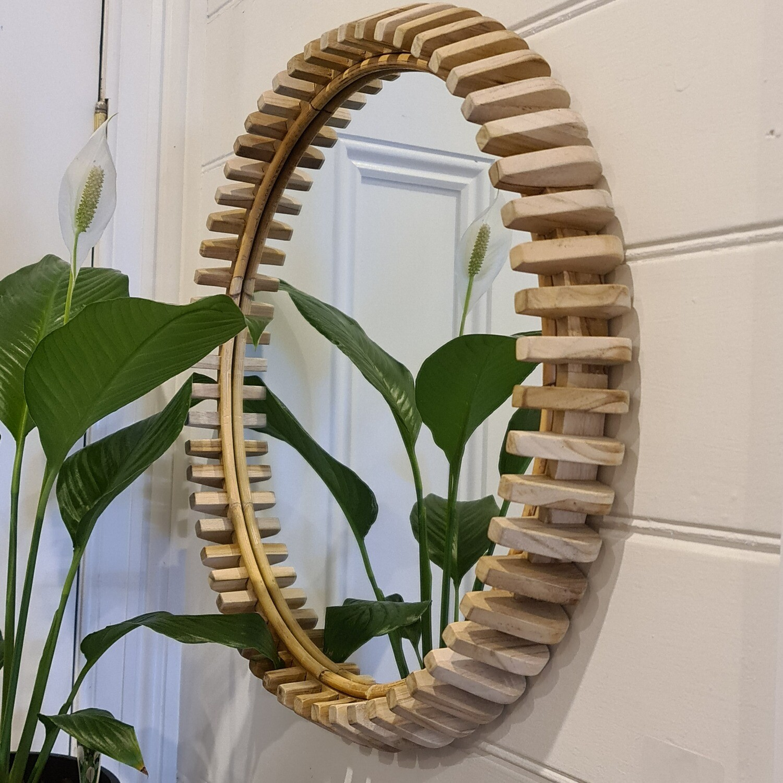 Babak Round Mirror