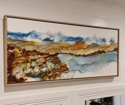 Layer Landscape - Original Art
