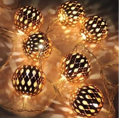 Lantern LED Light Garland