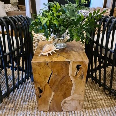 Kukonda Teak Root Side Table
