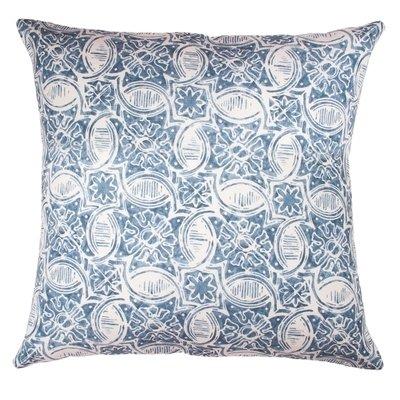 Indigo Tile Batik Cushion