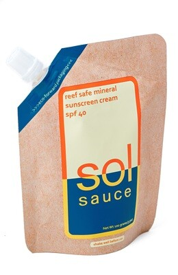 Sol Sauce All Natural Sunscreen Lotion
