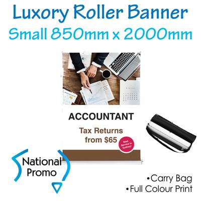 Luxury Roller Banner 850mm W x 2000mm H