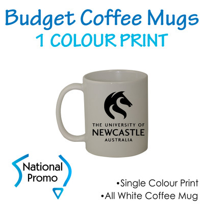 Coffee Mug Printed in 1 colour