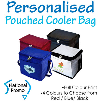 Small Cooler Bag with Pouch