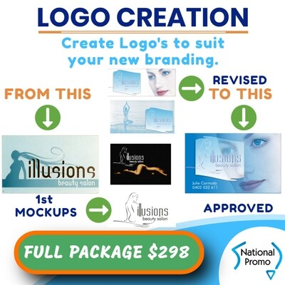 LOGO - CREATE & DEVELOP NEW LOGO