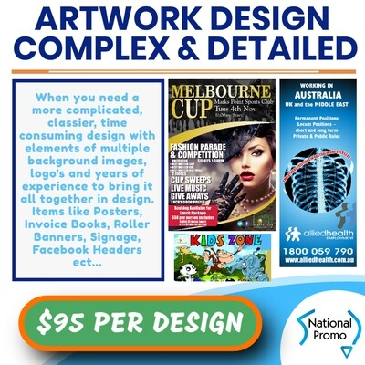 ARTWORK DESIGN - DETAILED & COMPLEX