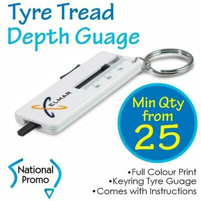 Tyre Tread Key Ring