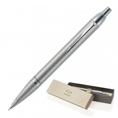 ENGRAVED PARKER MECHANICAL PENCIL BRUSHED STAINLESS
