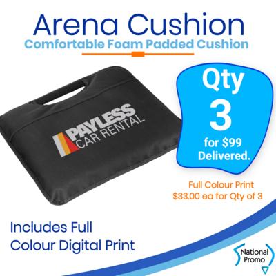 3x Arena Cushions