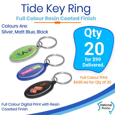 20x Tide Key Rings